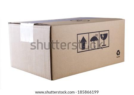 Packing Box - stock photo