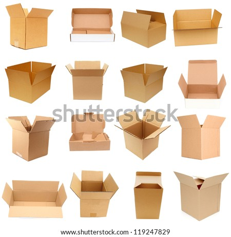 Packing of shipping carton boxes