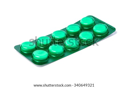 Packings of pills and capsules medicines. Medicines - stock photo