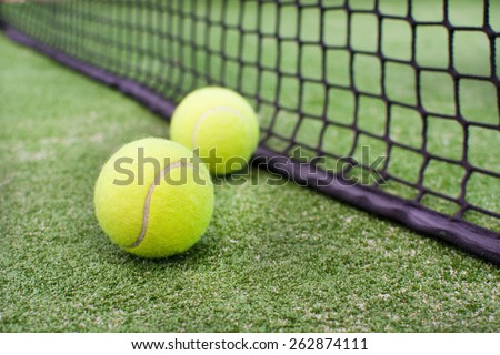 paddle balls  - stock photo
