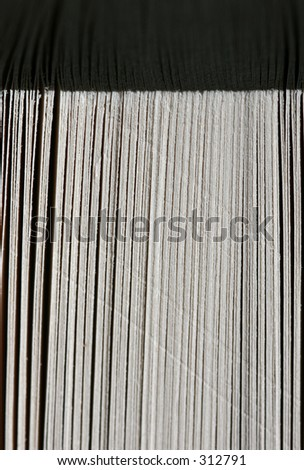 Pages extreme close-up - stock photo
