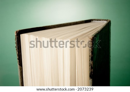 Pages of an old book