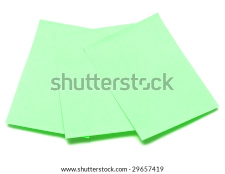 pages of notebook on white - stock photo
