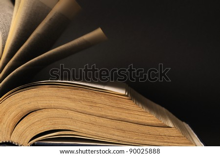 pages of old book