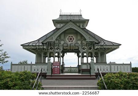 Pagoda at parliament hill - stock photo