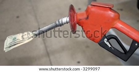 Pain at the Pump - stock photo