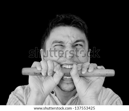 Pain.Medical concept - stock photo