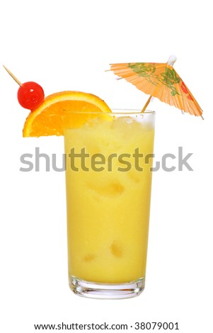Painkiller cocktail as made in the BVI - stock photo