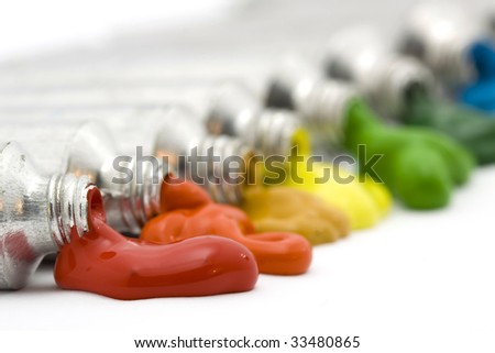 paint - stock photo