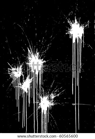 paint ball abstract - stock photo