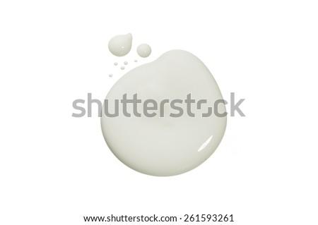 Paint Blob - stock photo