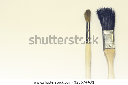 Paint Brush Fading vintage background