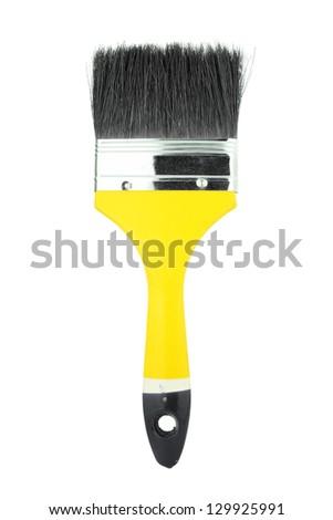 paint brush on white background - stock photo