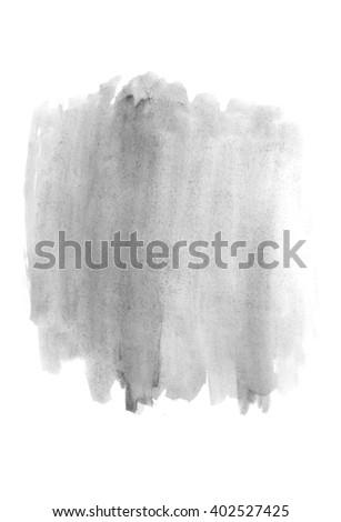 paint brush stroke texture  watercolor spot blotch isolated - stock photo