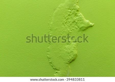 Paint damaged by moisture - stock photo
