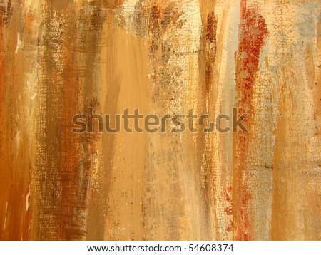 Paint on Canvas Textures 1 - stock photo