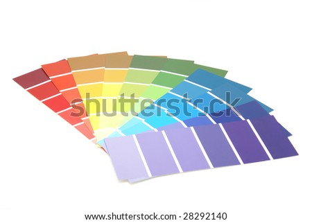 Paint Samples - stock photo