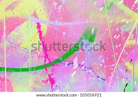 paint spatter - stock photo
