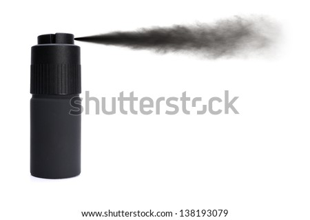 Paint spray isolated on a white background - stock photo