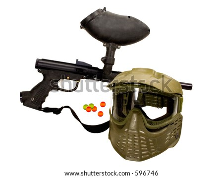 Paintball Gun - Recreation - stock photo