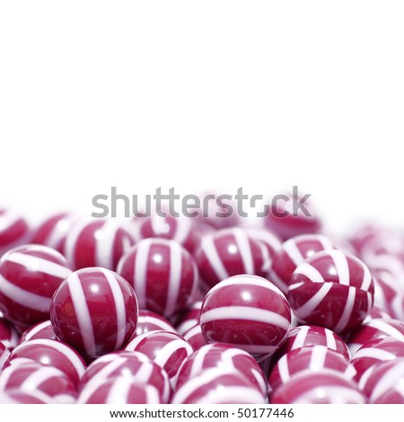 Paintball stripped violet jelly balls template cover page - stock photo