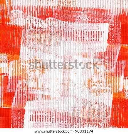 Painted abstract acrylic grunge background. - stock photo
