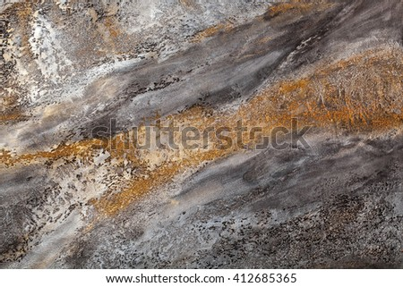 Painted abstract background, concrete surface. Grey plaster wall backdrop, stucco texture - stock photo