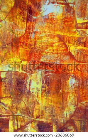 Painted background with charming colors. Art is painted by photographer. - stock photo