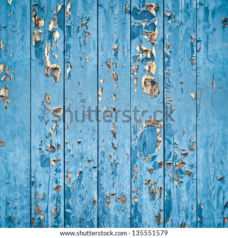 painted boards - stock photo