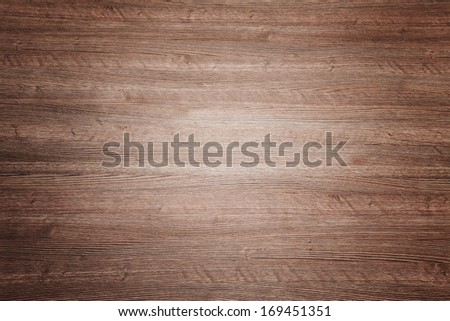 Painted cinnamon oak wood seamless background texture, top view