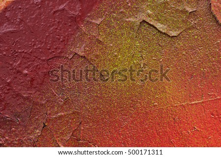 Painted Color Graffiti Wall texture