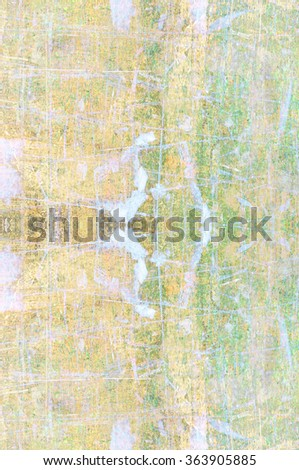 painted color on grunge background