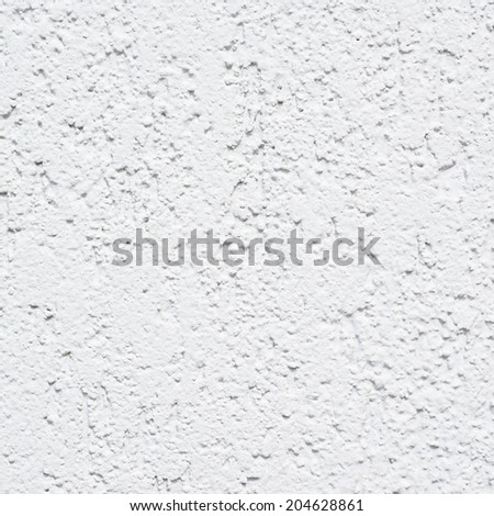 Painted concrete white wall as an abstract background texture composition - stock photo