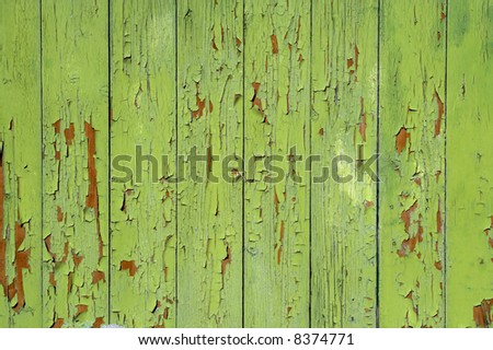 painted green background - stock photo