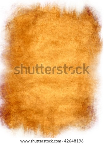 Painted Grunge Background Texture Frame