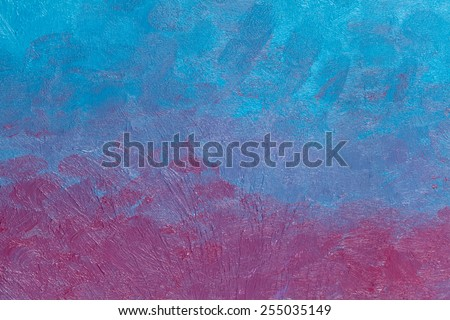 Painted impression art colors background texture - stock photo