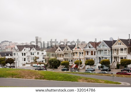 Painted Ladies is a term used for Victorian and Edwardian houses and buildings painted in three or more colors that embellish or enhance their architectural details.