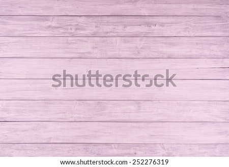 Painted Light Pink and Gray Rustic Wood Board Background that can be either horizontal or vertical. Blank Room or Space area for copy, text,  your words, above looking down view. Tinted photo. - stock photo