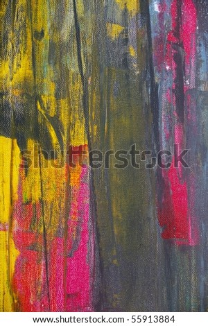 Painted muslin canvas backdrop for texture backdrop - stock photo