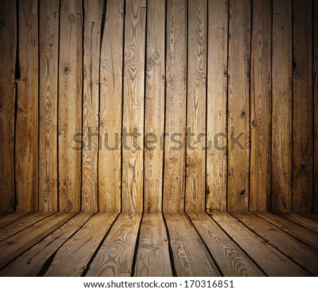 painted old wooden wall. brown room