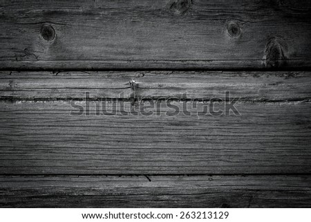 painted old wooden wall. gray background texture - stock photo
