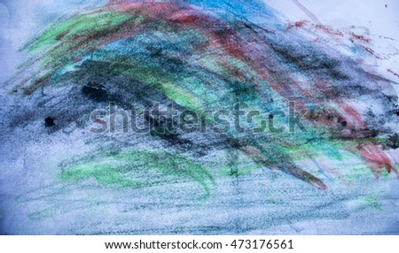 painted paper background abstraction