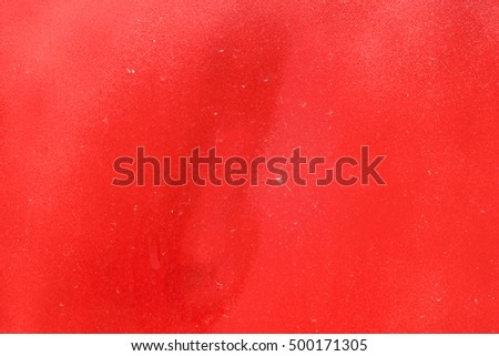 Painted Red Color Graffiti Wall texture
