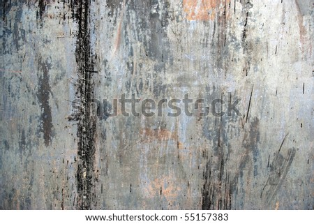 Painted vintage rusty grunge iron textured background