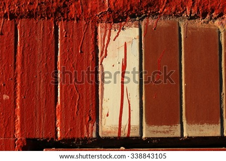 painted wall  tile