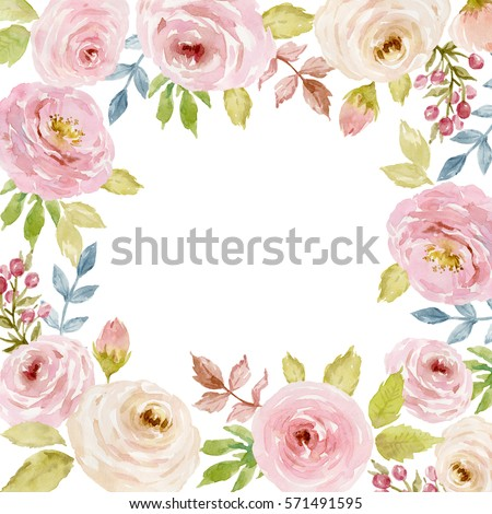 Roses Templates For Wall Painting