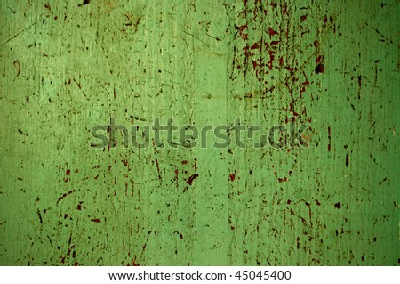 painted wood background, aqua, vertical - stock photo