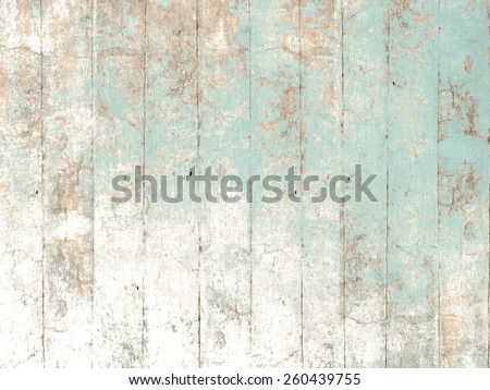 Painted wood background green - stock photo
