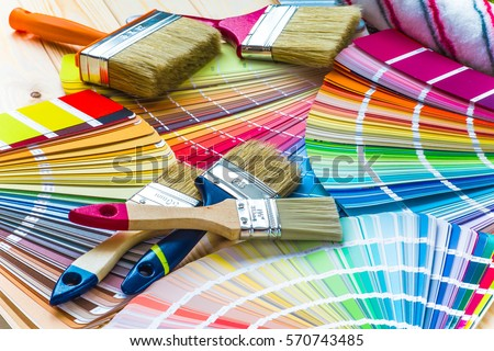Painting Tools Stock Images Royalty Free Images Vectors