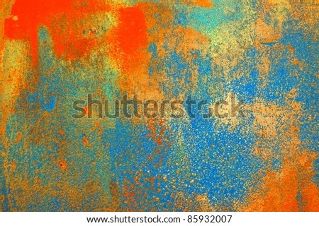 painting background - stock photo